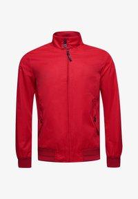 Superdry - HARRINGTON - Summer jacket - red - 3