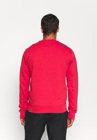 The North Face - DREW PEAK CREW - Sweatshirts - rococco red - 2