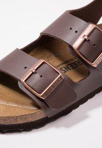 Birkenstock - MILANO - Sandały - dark brown - 2