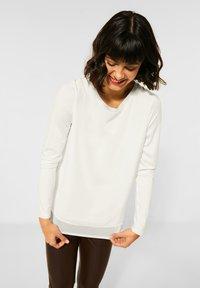 Street One - Long sleeved top - weiß - 0