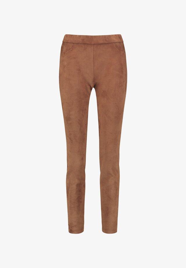 Pantalon classique - truffle brown