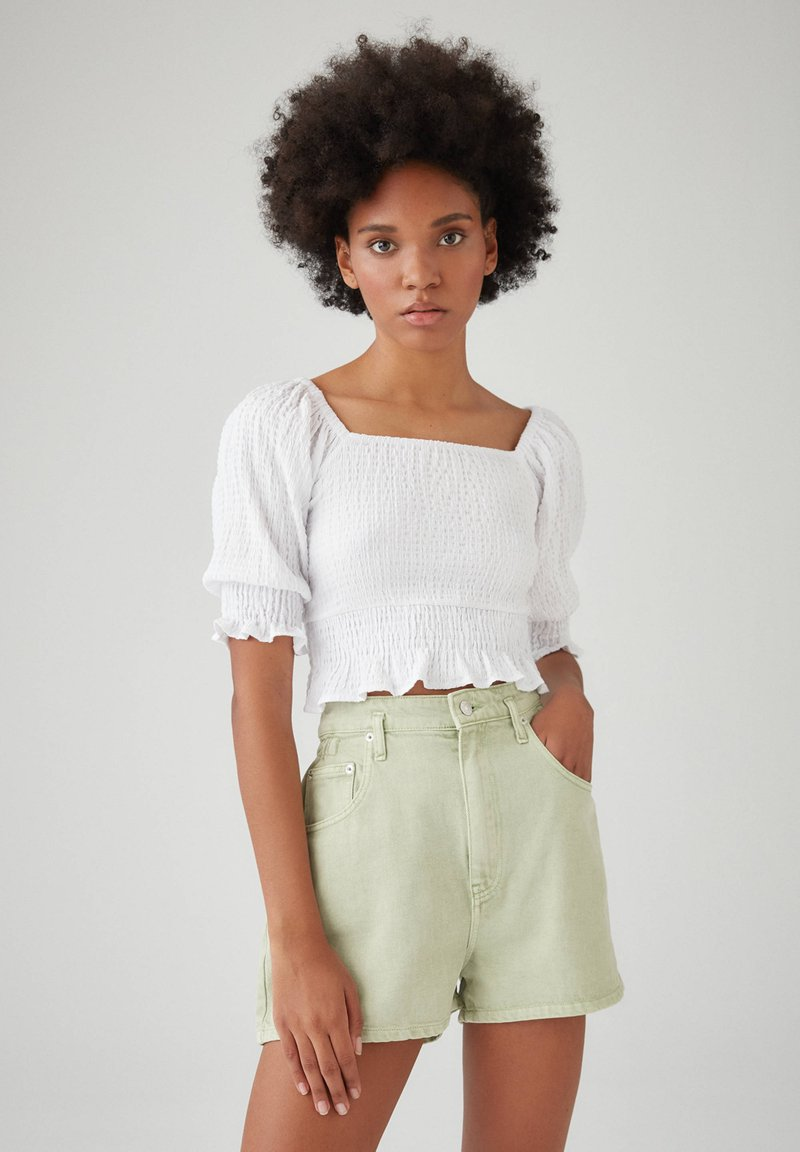PULL&BEAR - Blouse - white