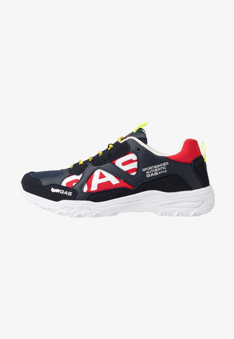 GAS Footwear - WISTOON MIX CLASSIC - Trainers - navy
