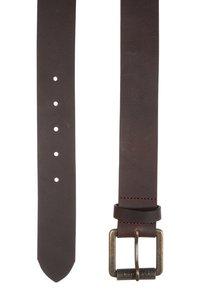 Tommy Hilfiger - ORIGINAL  - Belt - dark brown - 2