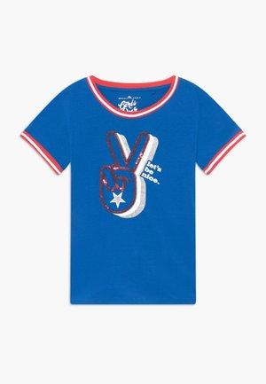 TEEN GIRLS  - T-shirt z nadrukiem - princess blue