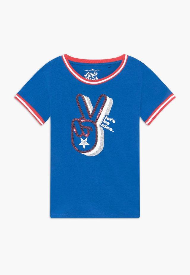 TEEN GIRLS  - Print T-shirt - princess blue