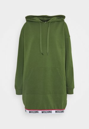 MAXI HOODIE - Negligé - military green