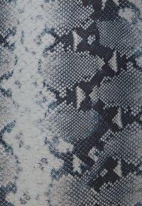 Hunkemöller - SNAKE WRAP - Badedrakt - blue - 2