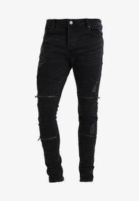 Brave Soul - ELBA - Jeans Skinny Fit - charcoal grey - 5