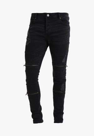 ELBA - Jeansy Skinny Fit - charcoal grey