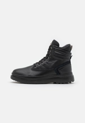 SNOWER PREMIUM UNISEX - Lace-up ankle boots - black