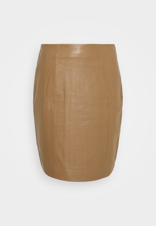 YASVITA SKIRT ICONS - Pencil skirt - ermine