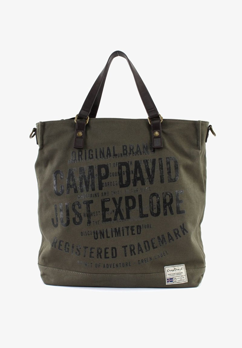 Camp David - YUKON  - Tote bag - khaki