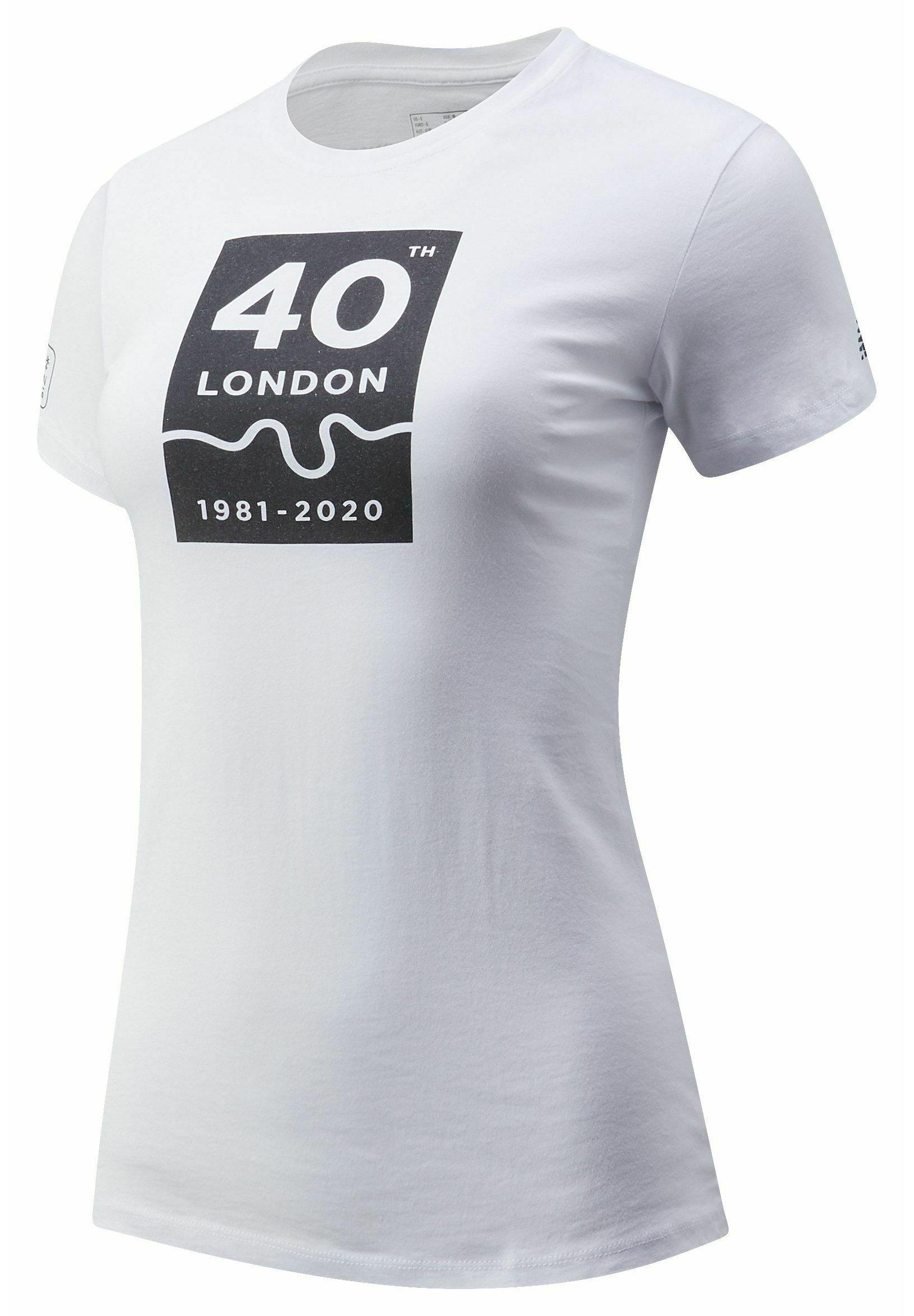 Femme LONDON EDITION 40TH MAP - T-shirt imprimé