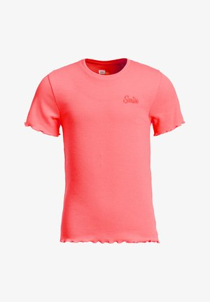 SLIM FIT  - T-shirt basic - salmon pink