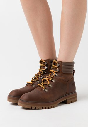 LONDON SQUARE HIKER - Lace-up ankle boots - brown