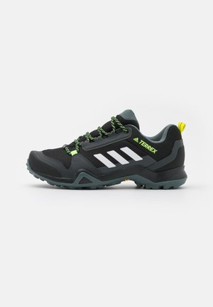 TERREX AX3 - Hiking shoes - core black/footwear white/acid yellow
