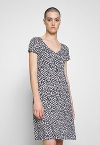 TOM TAILOR - DRESS - Jersey dress - navy blue - 0