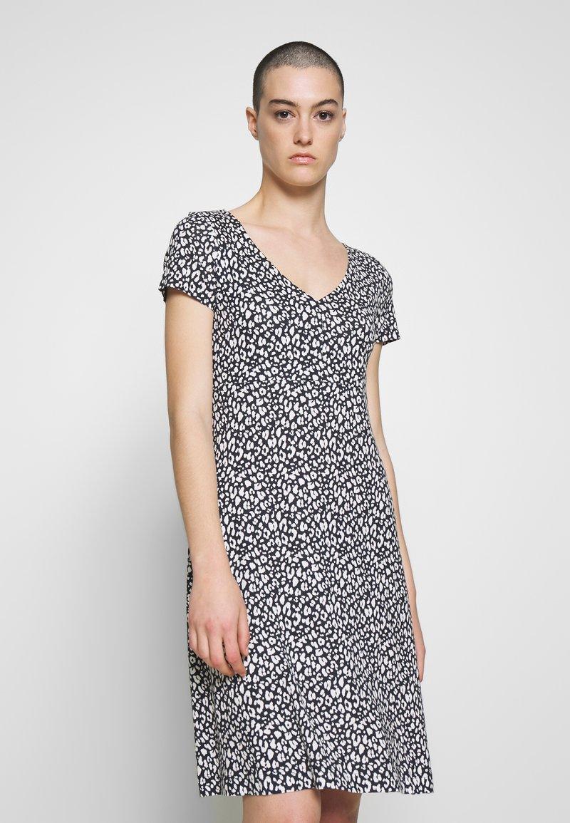 TOM TAILOR - DRESS - Jersey dress - navy blue