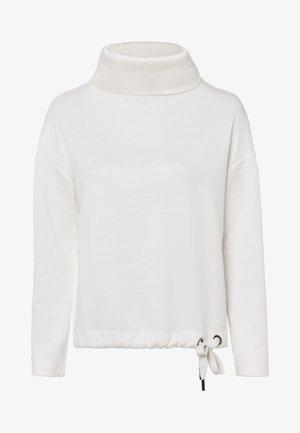 MIT ROLLKRAGEN - Sweatshirt - woolwhite