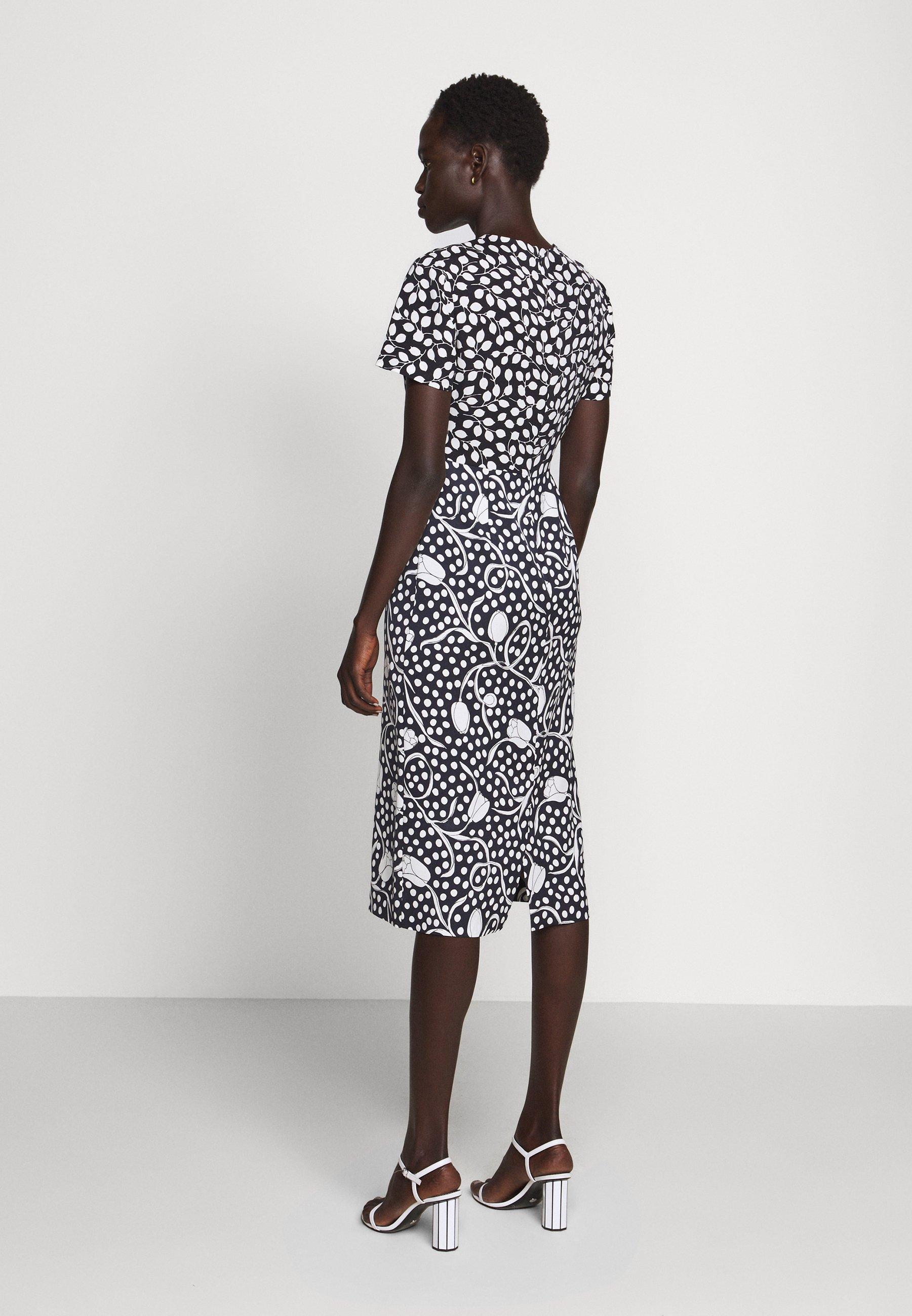 Nowy styl Duża obniżka Diane von Furstenberg LANGLEY - Sukienka letnia - dark blue | Odzież damska 2020 DD7J2