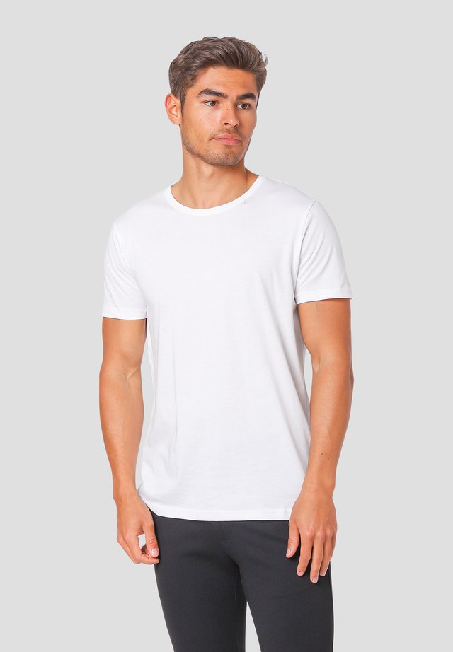 NOAH O - T-shirts basic - white