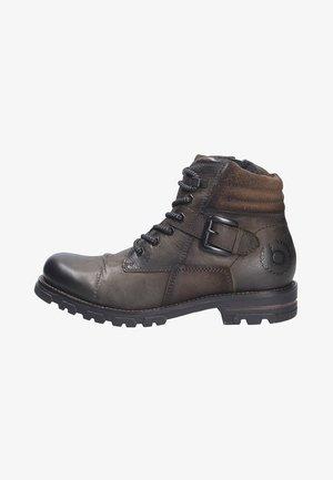 Winter boots - darkgreen