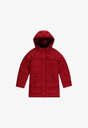 Winter coat - fiery red