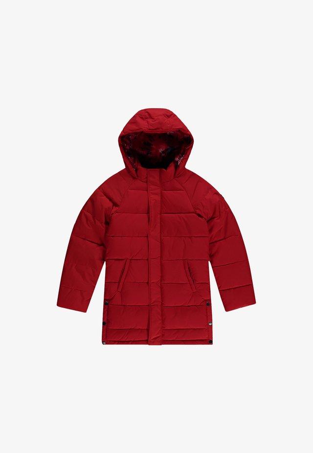 Winterjas - fiery red