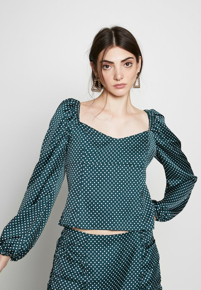 DORJE - Blouse - dark green