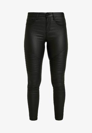 ONLNEW ROYAL BIKER COATED - Bukser - black