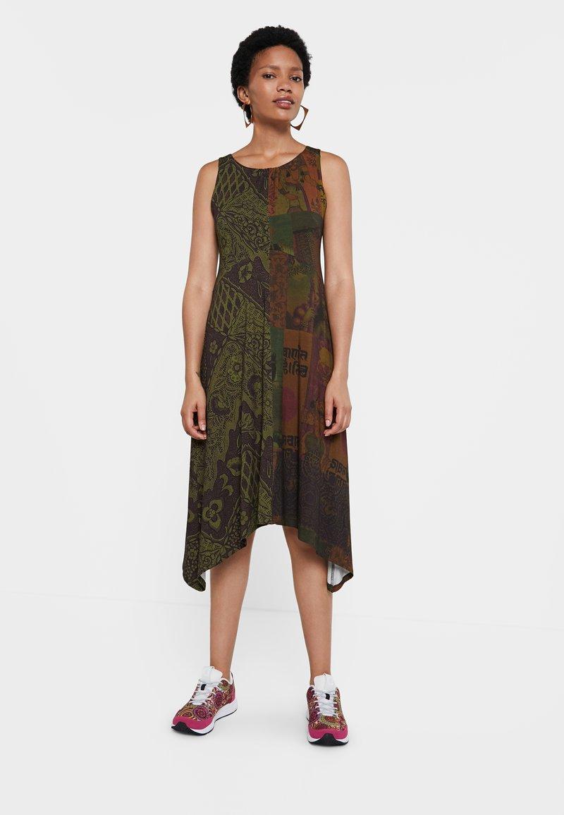 Desigual - Day dress - green