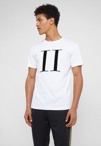 Les Deux - ENCORE  - Print T-shirt - white/black - 0