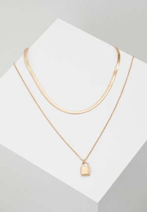 FRAOCIA 2 PACK - Necklace - gold-coloured