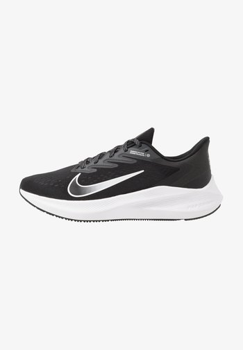 ZOOM WINFLO 7 - Chaussures de running neutres - black/white/anthracite