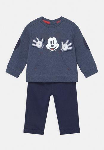 SET UNISEX - Sweatshirt - blue melange