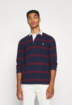 LONG SLEEVE RUGBY - Polo shirt - hunter navy