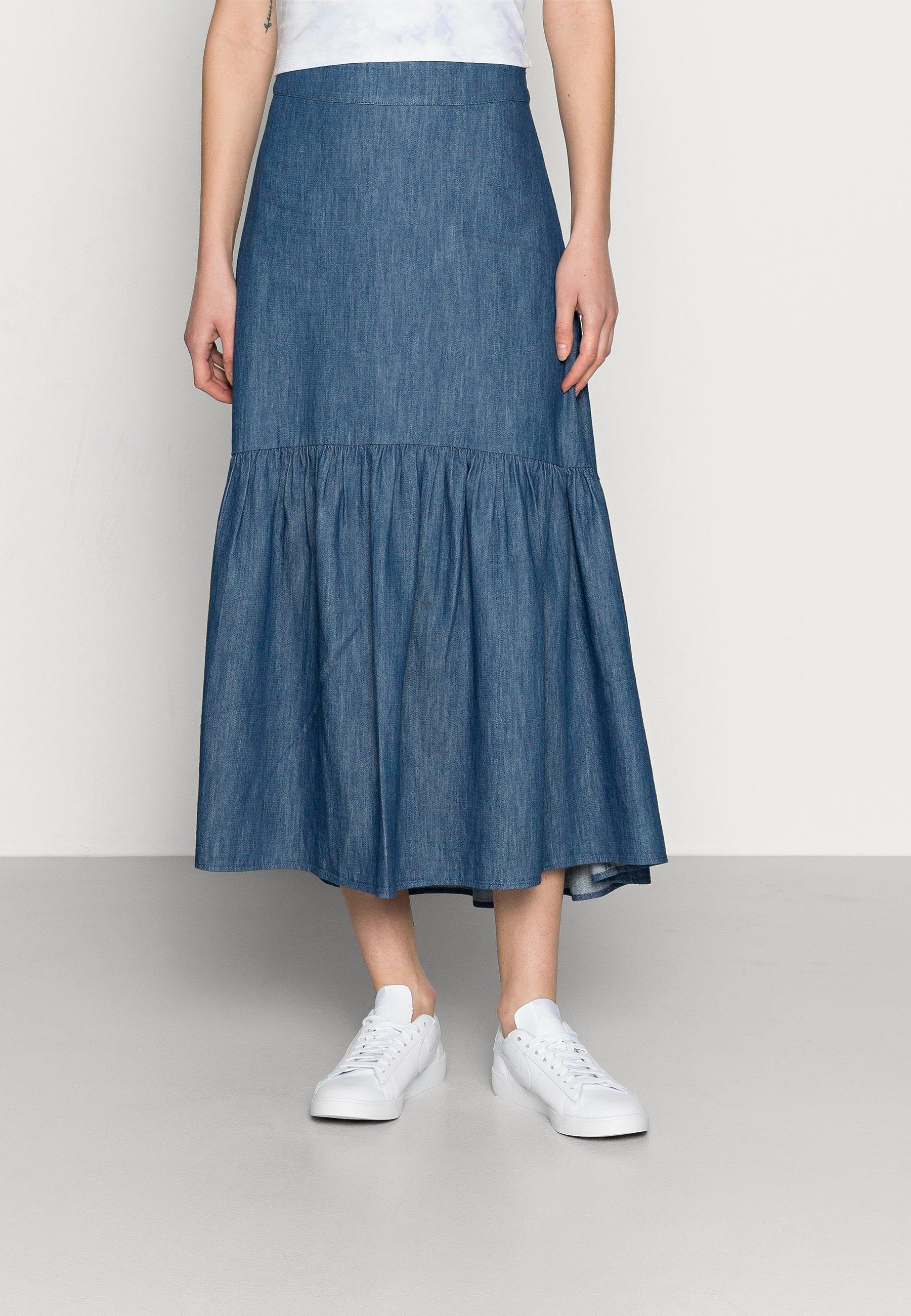 Women SKIRT FLORENCE - Denim skirt