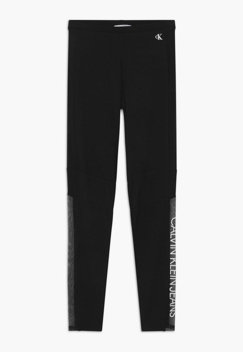 Calvin Klein Jeans - LOGO - Legíny - black