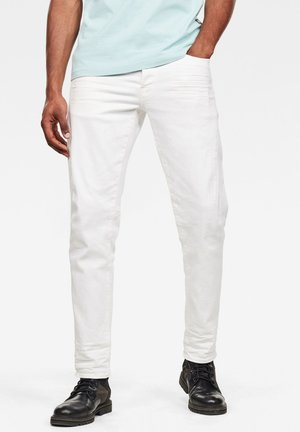 CITISHIELD - Slim fit jeans - white