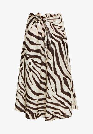 SKIRT - A-line skirt - dark brown