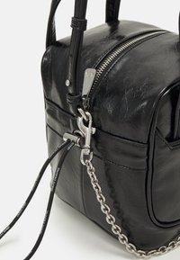 Armani Exchange - SHOULDER BAG - Kabelka - black - 4