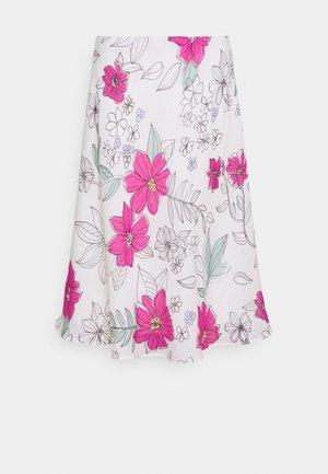 MIDI - A-line skirt - pink