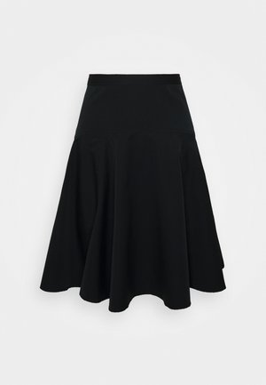 HENA SKIRT - A-line skjørt - polo black