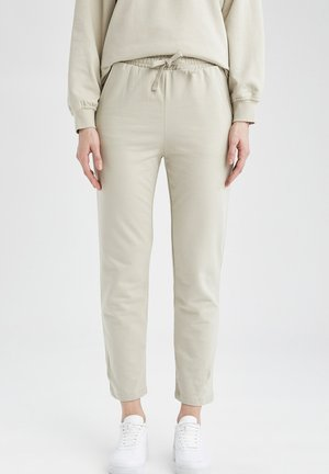Tracksuit bottoms - ecru