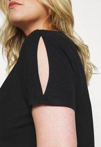 Anna Field Curvy - Camiseta básica - black - 3