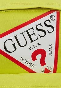 Guess - BACKPACK UNISEX - Rucksack - shiny light green - 3
