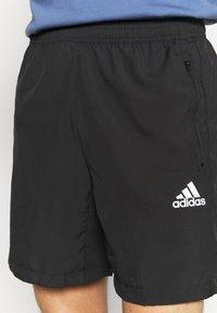 adidas Performance - Korte sportsbukser - black - 4
