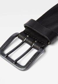 G-Star - RIVET STUD - Belt - dk black/antic copper - 1