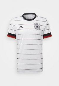 adidas Performance - DEUTSCHLAND DFB HEIMTRIKOT JERSEY SHIRT - Club wear - white/black - 6